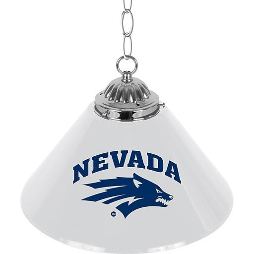 "Trademark Global University of Nevada 14"" Single Shade Bar Lamp (CLC1200-UN)"