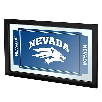 Trademark Global University of Nevada Framed Logo Mirror (CLC1525-UN)