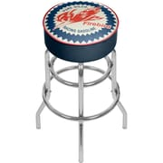 "Trademark Global Pure Oil 31"" Chrome Bar Stool with Swivel, Firebird (AR1000-PURE)"