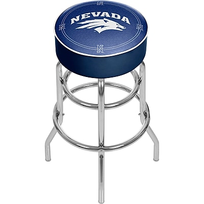 Trademark Global University of Nevada Padded Swivel Bar Stool (CLC1000-UN)