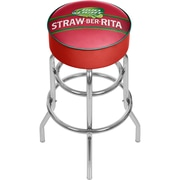 "Trademark Global Bud Light Straw-Ber-Rita Padded Swivel Bar Stool, 31"" (AB1000-SBR)"