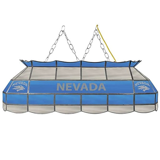 """Trademark Global University of Nevada 40"""" Stained-Glass Tiffany-Style Light (CLC4000-UN)"""