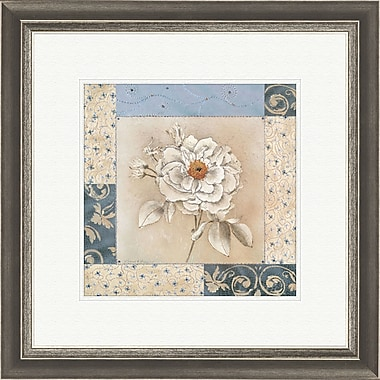 PTM Images Sapphire Bloom 2 Piece Framed Graphic Art Set
