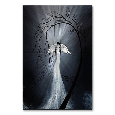 All My Walls 'Heartache and Poetry... Broken Wing' by Jaime Zatloukal Best Painting Print Plaque