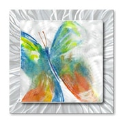 All My Walls 'Butterfly' by Stephanie Kriza Painting Print Plaque
