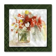 All My Walls 'Vase of Flowers' by Stephanie Kriza Painting Print Plaque