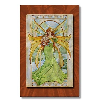 All My Walls 'Spring Fairy' by Teri Rosario Painting Print Plaque
