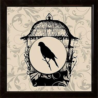 PTM Images Birds 2 Piece Framed Graphic Art Set