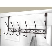 Home Basics 6 Hook over the Door Coat Rack