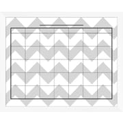 PTM Images Elliott Framed Calendar/Planner Glass Dry Erase Board