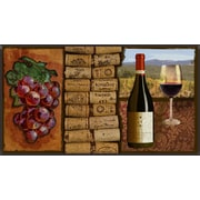 PTM Images Wine Framed Graphic Art
