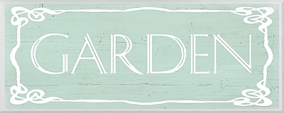 PTM Images Garden Sign Textual Art