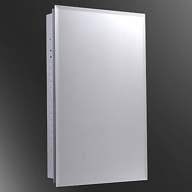 Ketcham Medicine Cabinets Euroline 16'' x 30'' Surface Mount Medicine Cabinet