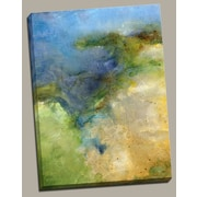 Portfolio Canvas ''Sunlit Sound'' Painting Print on Wrapped Canvas