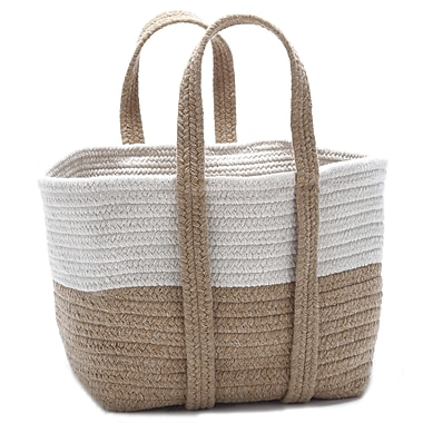 Colonial Mills Farmhouse Square Basket; Evergold
