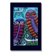All My Walls 'Owls' by Heather Galler Graphic Art Plaque
