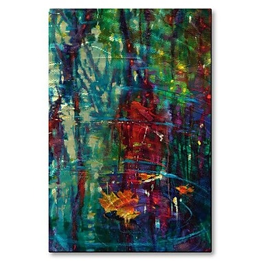All My Walls 'Secluded Moments' by Donna Young Painting Print Plaque