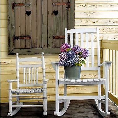 PTM Images Porch Chairs Photographic Print