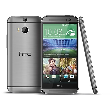 HTC One M8 Factory Unlocked Smartphone, Black, Refurbished, English