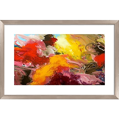 PTM Images Artists Pallette Gicl e Framed Painting Print