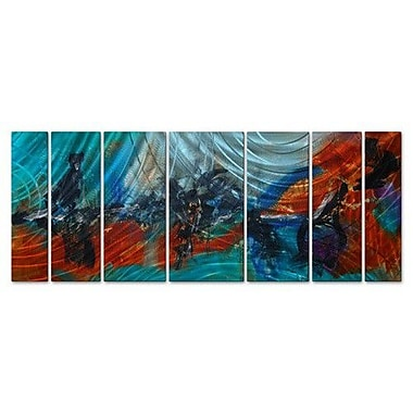 All My Walls 'Whatever It Takes' by Andrada Anghel 7 Piece Painting Print Plaque Set