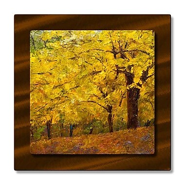All My Walls 'Autumn Series' by Kevin Liang Painting Print Plaque