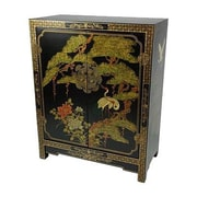 Oriental Furniture Chinese Accent Cabinet
