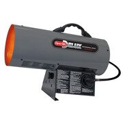 Dyna-Glo 40,000 BTU Portable Propane Forced Air Utility Heater w/ Continuous Electronic Ignition