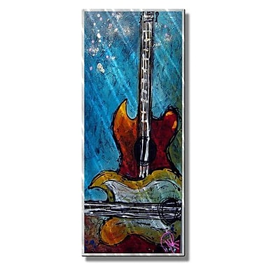 All My Walls 'Hear My Song' by Marina Rehrmann Painting Print Plaque