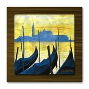 All My Walls 'Venice Italy' by Jerome Stumphauzer Painting Print Plaque