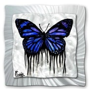 All My Walls 'Butterfly Tears' by Michael Grubb Graphic Art Plaque