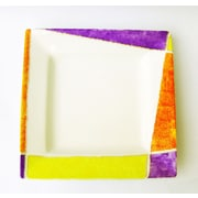 Eva Design Joyful 9.8'' Square Design Platter