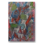 All My Walls 'Venice Abstract' by Mike Henderson Painting Print Plaque