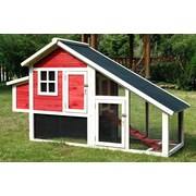 Merry Products Pet Proposal Habitat Chicken Coop w/ Nesting Box