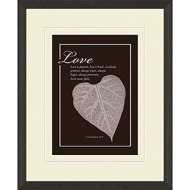 PTM Images Faith & Love 2 Piece Graphic Art Set
