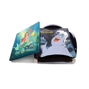Trend Setters 5 Piece the Little Mermaid Star Fire Prints Glass Coaster Set