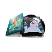 Trend Setters 5 Piece the Little Mermaid Star Fire Prints Glass Coaster Set