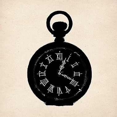 PTM Images Pocket Watch Photographic Print on Wrapped Canvas