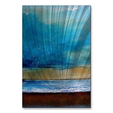 All My Walls 'Freedom Sky' by Toni Grote Painting Print Plaque