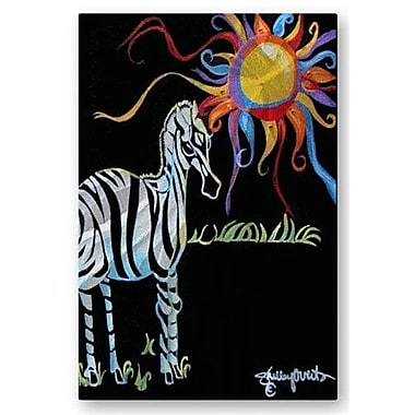 All My Walls 'Zebra Sun' by Shelley Overton Graphic Art Plaque