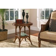 Boca Rattan Regency End Table; Urban Mahogany