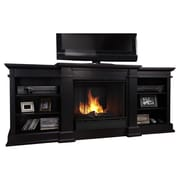 Real Flame Fresno TV Stand; Black