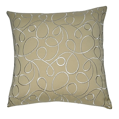 Loom and Mill Decorative Cotton Throw Pillow
