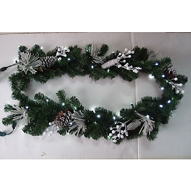 Queens of Christmas Flocked Garland