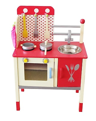 Berry Toys Cute and Fun Wooden Play Kitchen