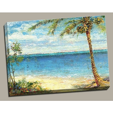 Portfolio Canvas Island of Paradise Painting Print on Wrapped Canvas