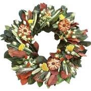 Dried Flowers and Wreaths LLC Cone Flower Wreath