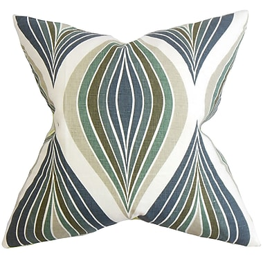 The Pillow Collection Carlow Geometric Cotton Throw Pillow Cover