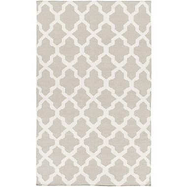 Artistic Weavers York Gray Geometric Olivia Area Rug; 5' x 8'