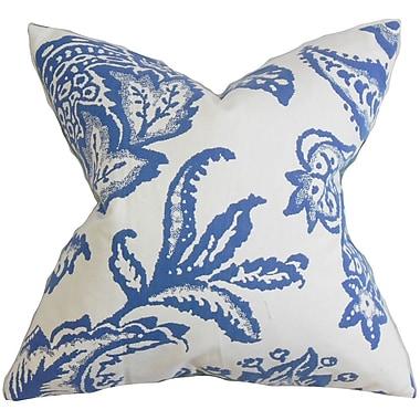 The Pillow Collection Galen Floral Throw Pillow; 18'' x 18''